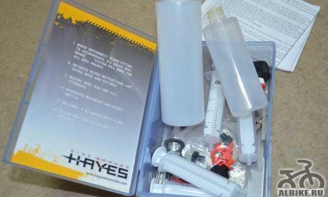 Комплект для прокачки тормозов Hayes Pro Bleed Kit