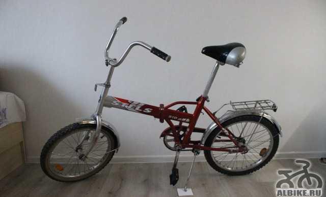"""Велосипед """"Стелс Пилот"""". Складной/универсальный"""