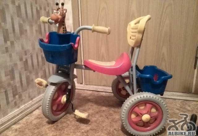 Детский трехколесный велосипед Фамили