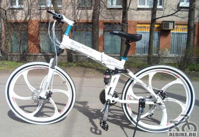 Велосипед на литых дисках БМВ X3 24 скорости В нал
