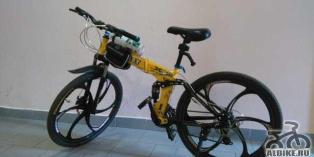 Складной Велосипед Military (на литых дисках)