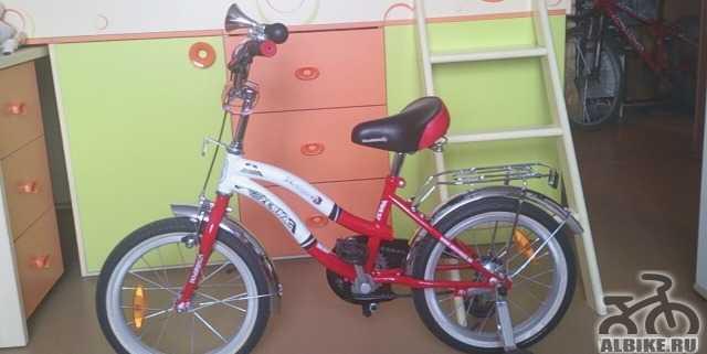 Детский велосипед novatrack Zebra 16