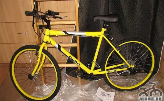 Срочно продам новый горный велосипед