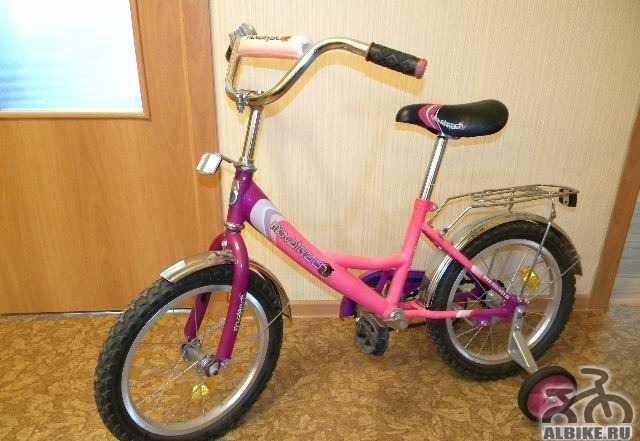 Велосипед детский Novatrack на возраст 4-7 лет