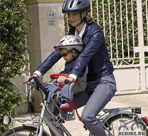 Детское велокресло Ok Baby