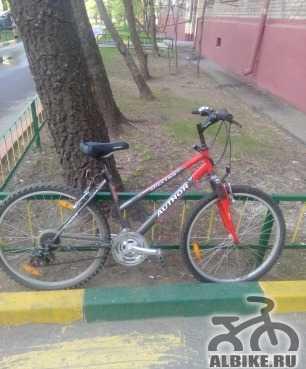 Женский велосипед Author бу