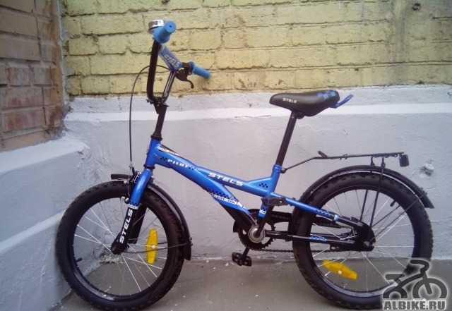 Детский велосипед Стелс Пилот 130 18 б/у