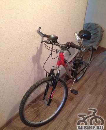 Горный отличный велосипед