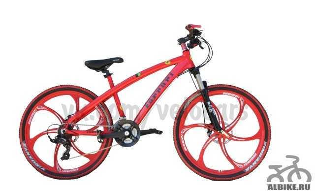 Велосипед Феррари Красный