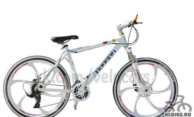 Велосипед Феррари Белый