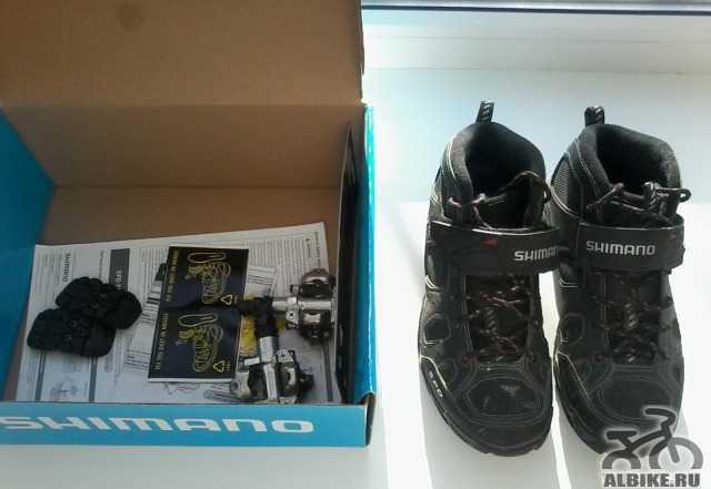 Продам велотуфли Shimano M53, 42р-р
