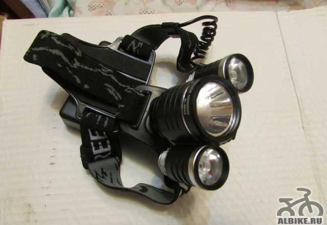Фара-фонарь для велосипеда
