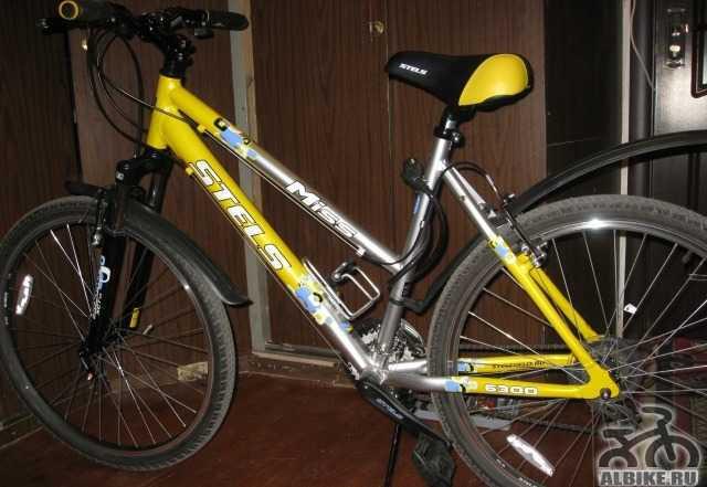Продается женский велосипед стелс срочно