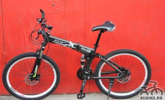 Складной горный велосипед