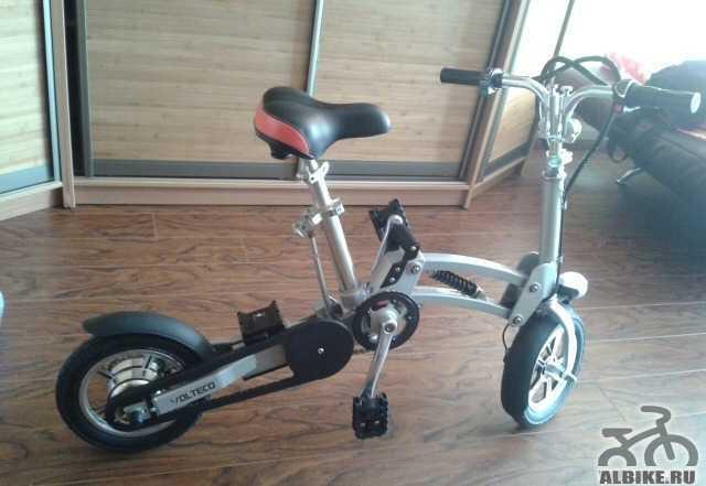 Электровелосипед shrinker 350 volteco б/у