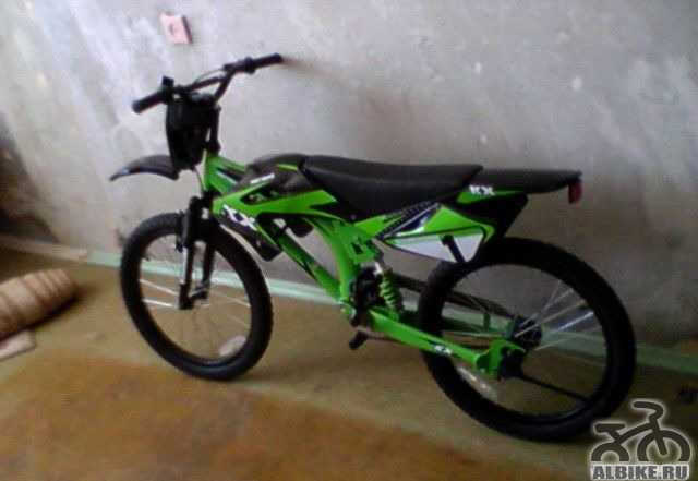 Кавасаки велобайк нов