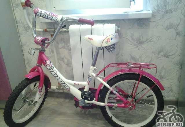 Детский велосипед (16 дюймов) с доп. колесами