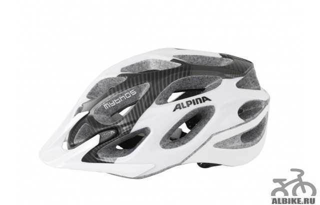 Велосипедный шлем Альпина Mythos 2.0LE. Как новый