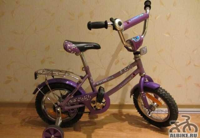 Велосипед 12 дюймов novatrack в отличном состоянии