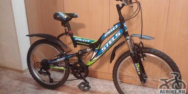 Горный подростковый велосипед стелс Пилот 260