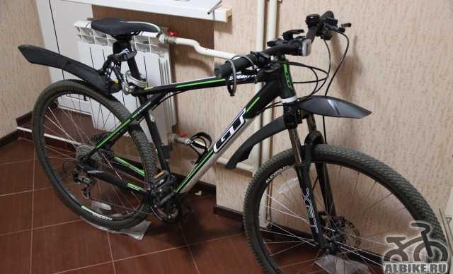 Продам велосипед GT Karakoram Спорт 2014 + доп