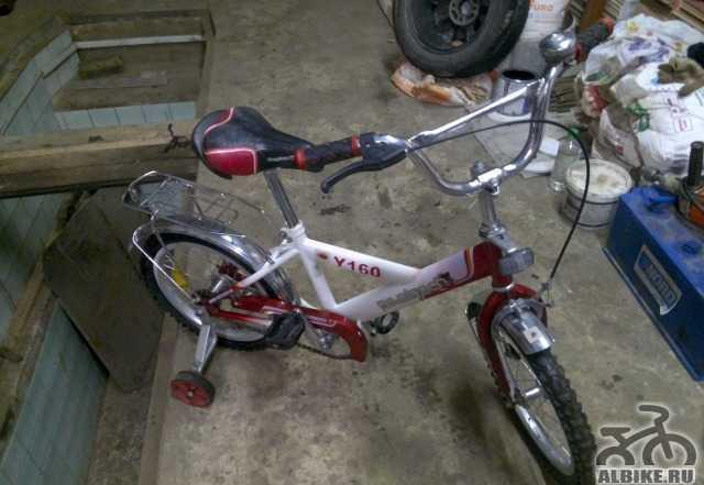 Велосипед novatrack от 4 до 8 лет
