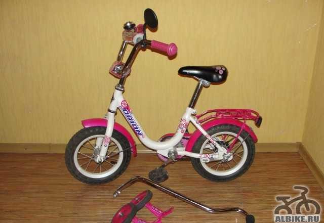 Велосипед для девочки орион Флеш 12