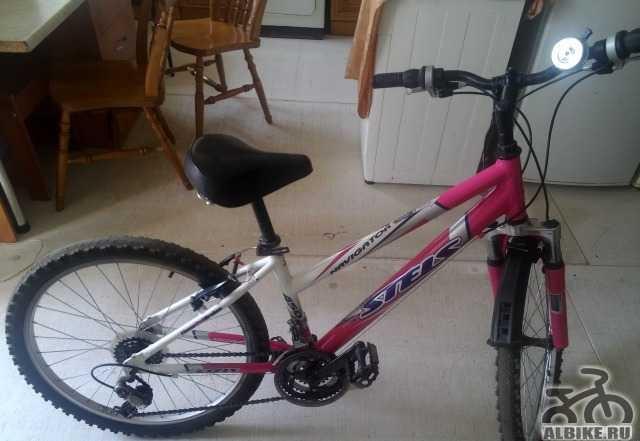 Меняю подростковый горный велосипед на взрослый