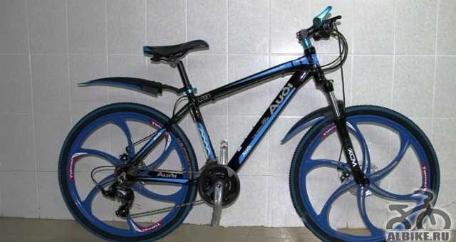 Велосипед на литых дисках Ауди 24 скорAltus Нали