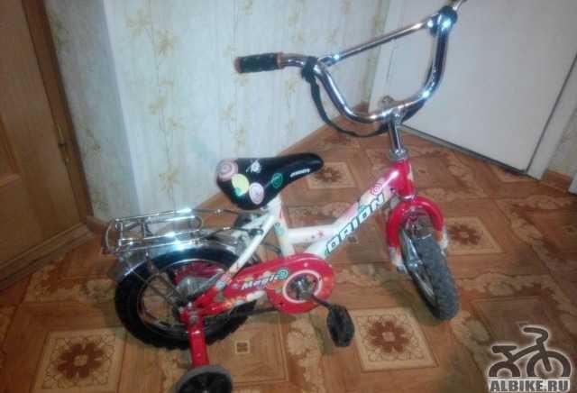 Велосипед детский орион Мэджик, 3-5 лет