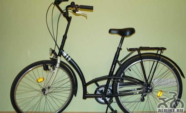 """Новый велосипед Elops 3 B""""twin"""