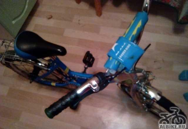 Велосипед + в подарок самокат
