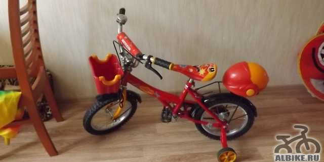 Детский велосипед в хорошем состоянии марки янтарь