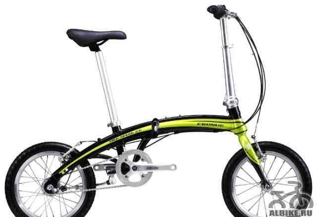 Складной велосипед кронос