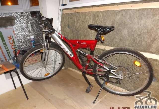 Велосипед mountainbike shimano