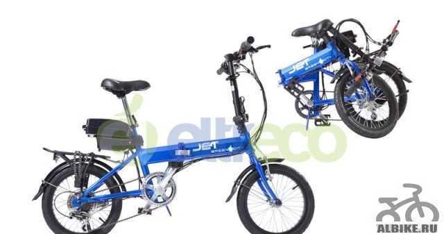 Электровелосипед (велогибрид) Электро Green Сити J