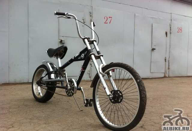 Велосипед чоппер Novatrack Starley