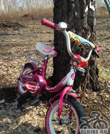 Велосипед детский двух-четырёх-колёсный