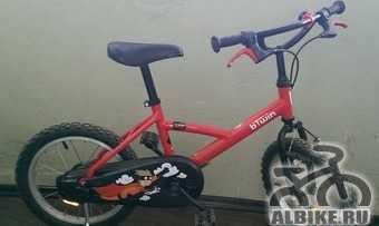"Детский велосипед B""twin гипер hero 16"""
