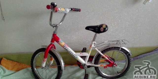 Детский велосипед, лет на 5-7