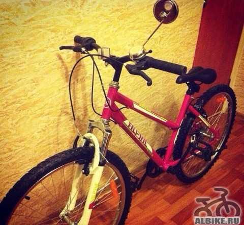 Велосипед для девушек Альпина байк