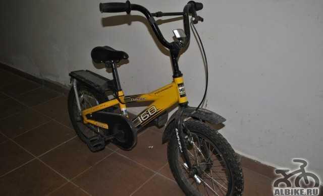 Детский велосипед, стелс, на ходу