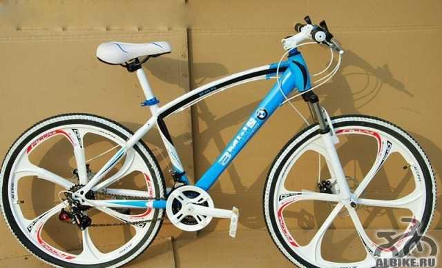 Лимитированный велосипед БМВ X2 для катания