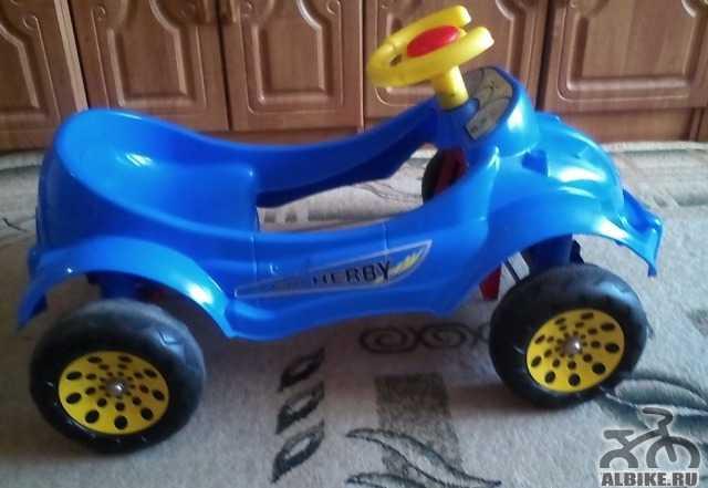 Педальна машина Harby Car