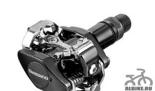 Педали Shimano M505 контакты + платформы для них