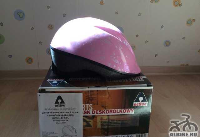 Шлем велосипедный детский защитный р. 48-54см