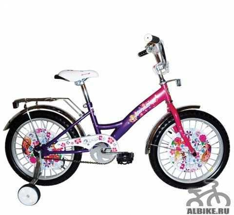 """Велосипед Навигатор Lady 18"""", для девочки с 4-10л"""