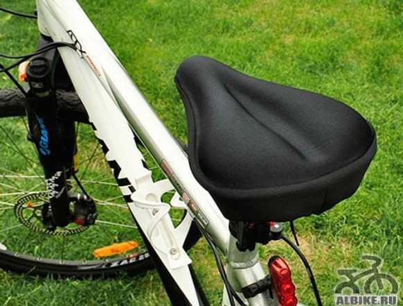 Силиконовый чехол накладка на седло велосипеда