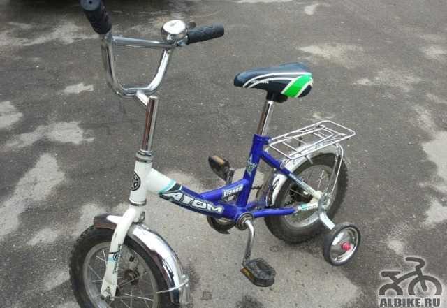 """Детский велосипед Атом 12"""""""
