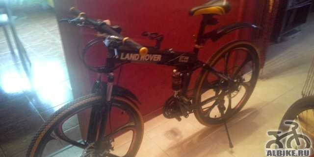 Велосипед складной горный